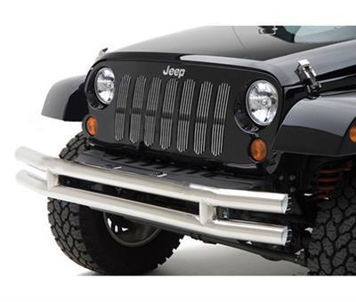 Tubular Jeep Front Bumper In Stainless Steel For Wrangler CJ YJ TJ