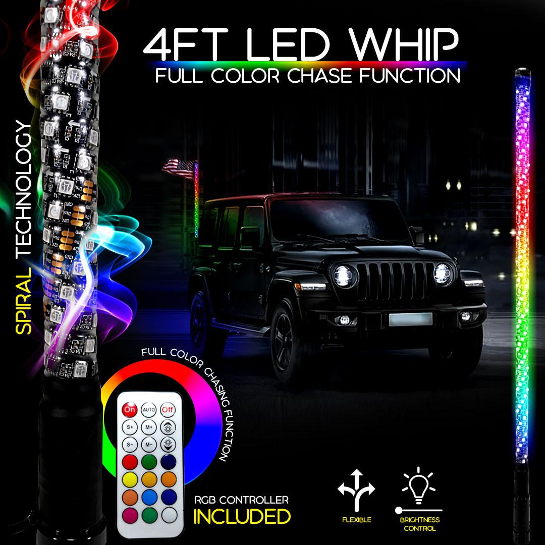 LED WHIP SET for JEEP