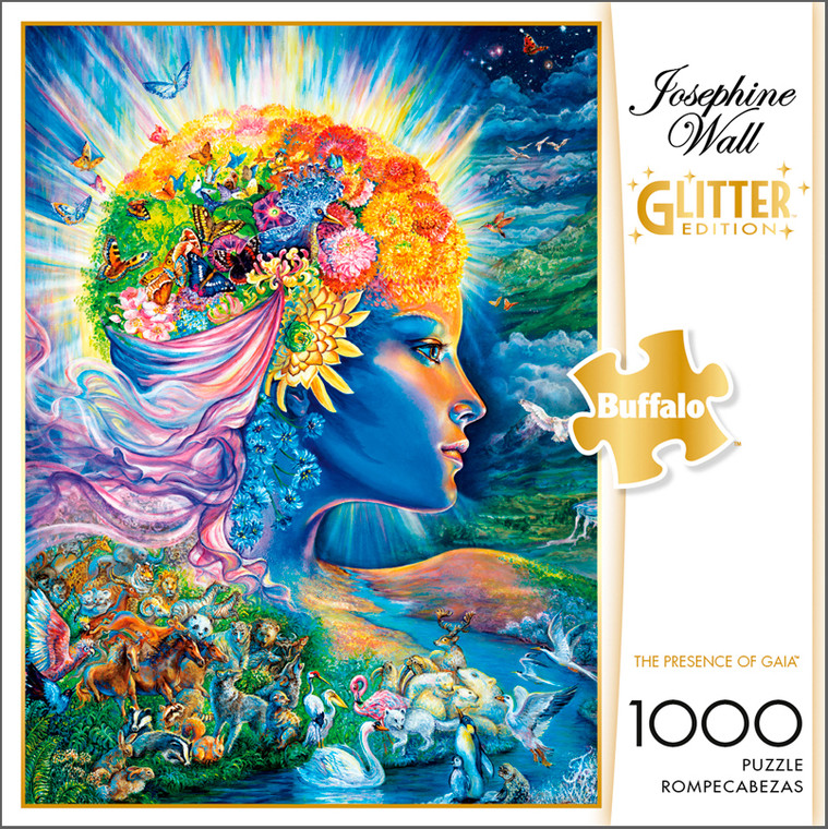 Josephine Wall The Presence Of Gaia 1000 Piece Jigsaw Puzzle Box
