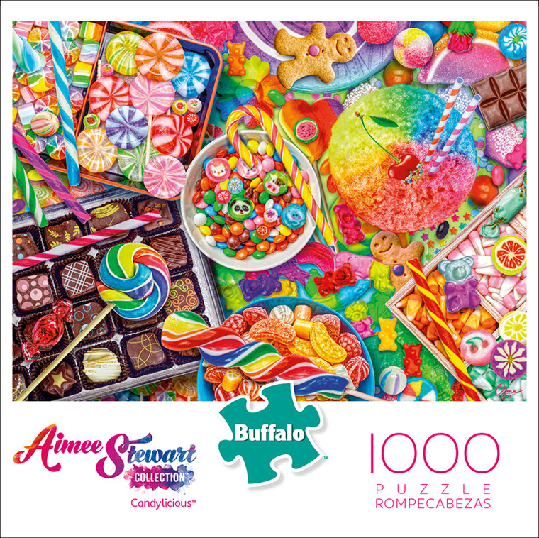Aimee Stewart Collection: Candylicious 1000 Piece Jigsaw Puzzle Box