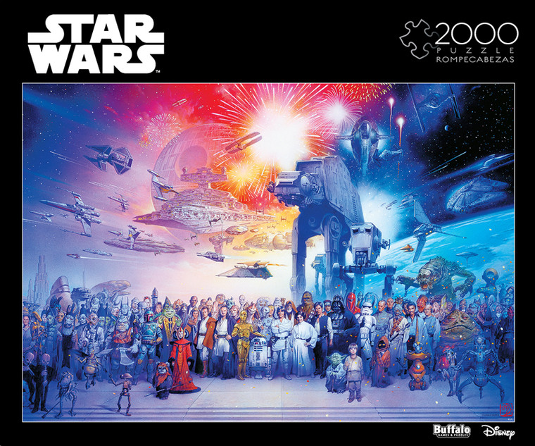 "Star Wars™ ""You Were the Chosen One"" 2000 Piece Jigsaw Puzzle Box"
