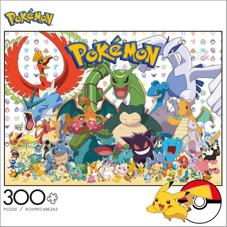 Pokémon Fan Favorites 300 Large Piece Jigsaw Puzzle Box