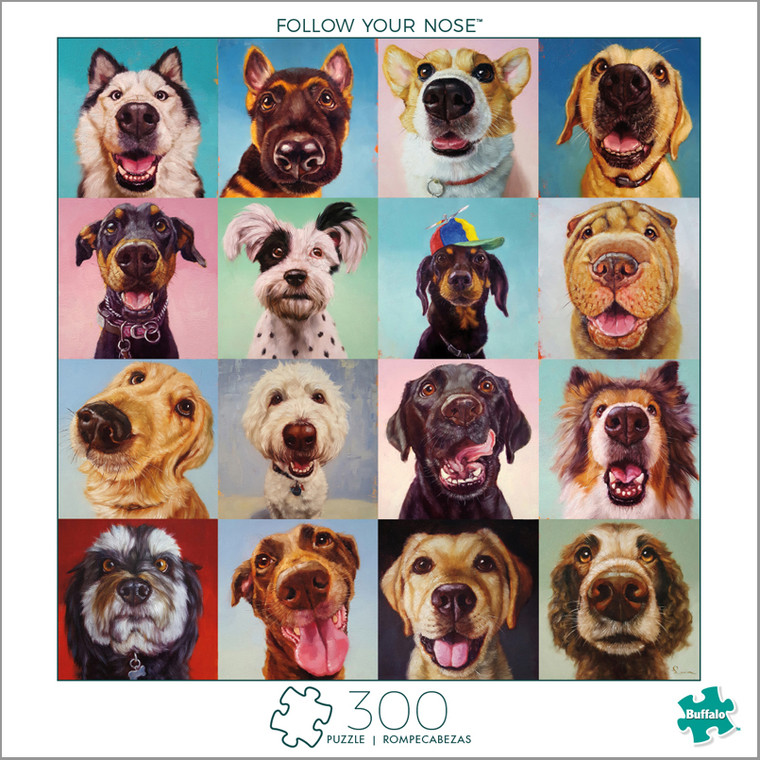 Follow Your Nose 300 Large Piece Jigsaw Puzzle Box