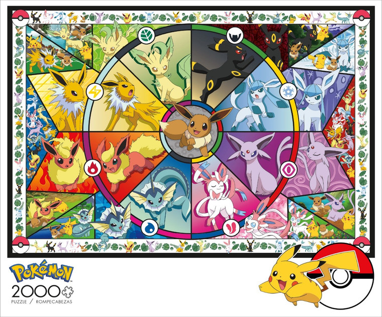 Pokémon Eevee Evolutions 2000 Box Image