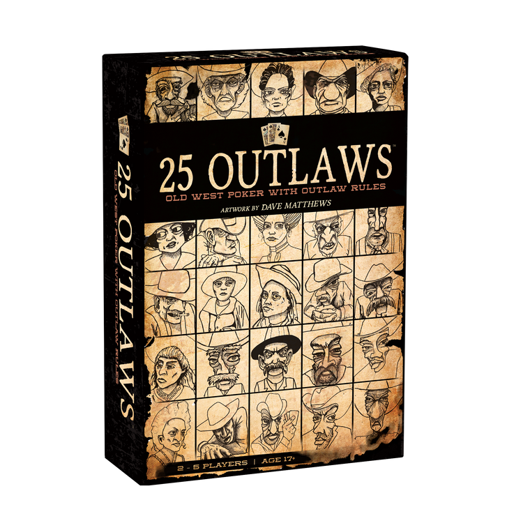 25 Outlaws Box Front