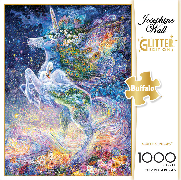 Josephine Wall Soul of a Unicorn 1000 Piece Box