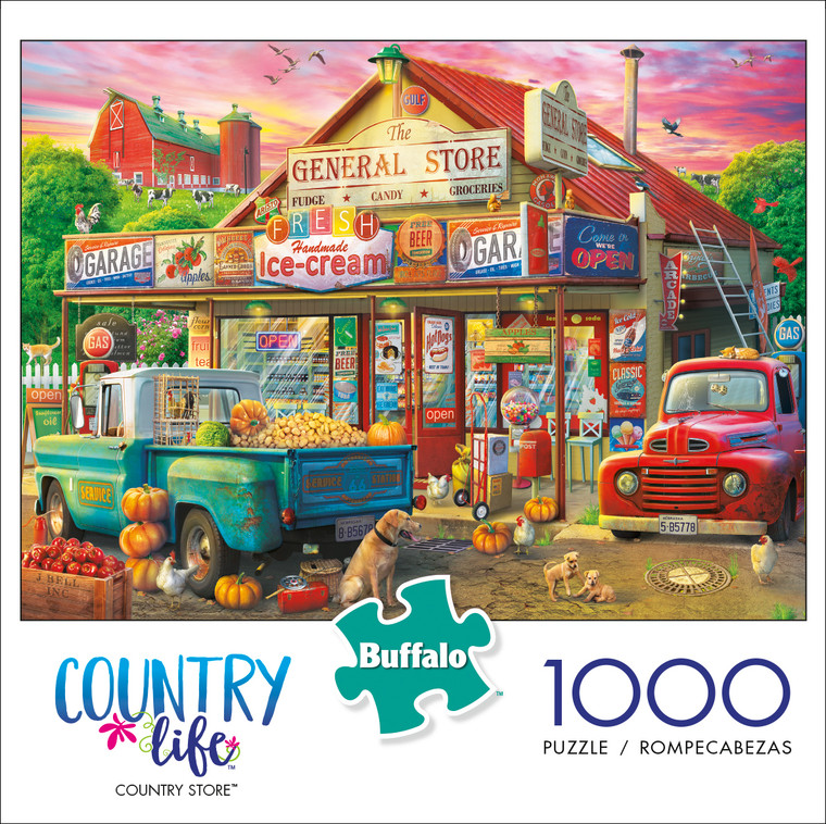 Country Life Country Store 1000 Piece Box