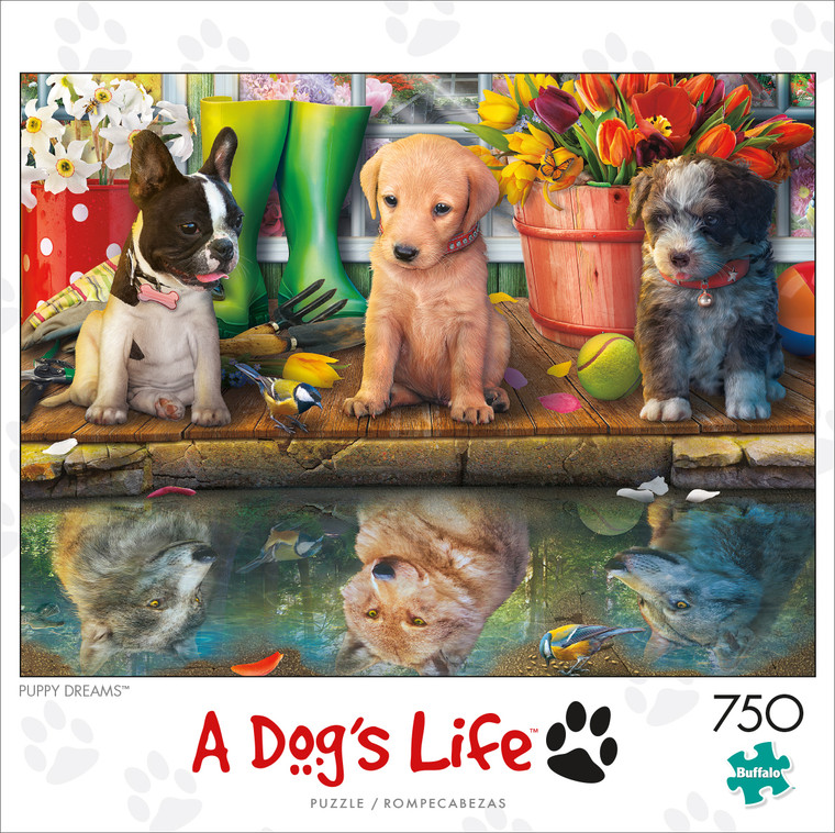 A Dogs Life Puppy Dreams 750 Piece Box