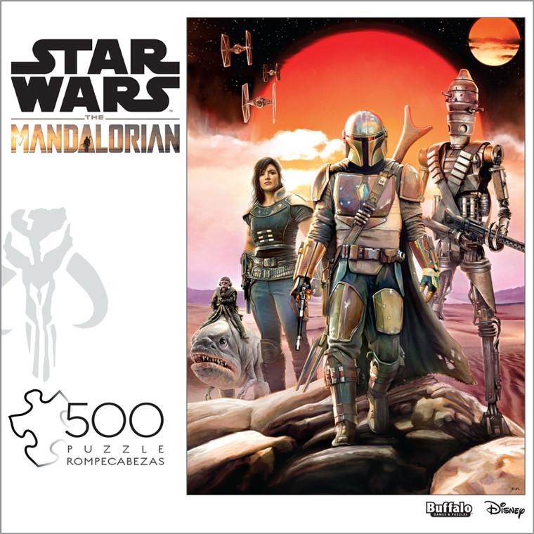 """Star Wars™ """"Bounty Hunting Is A Complicated Profession…"""" 500 Piece Jigsaw Puzzle Box"""