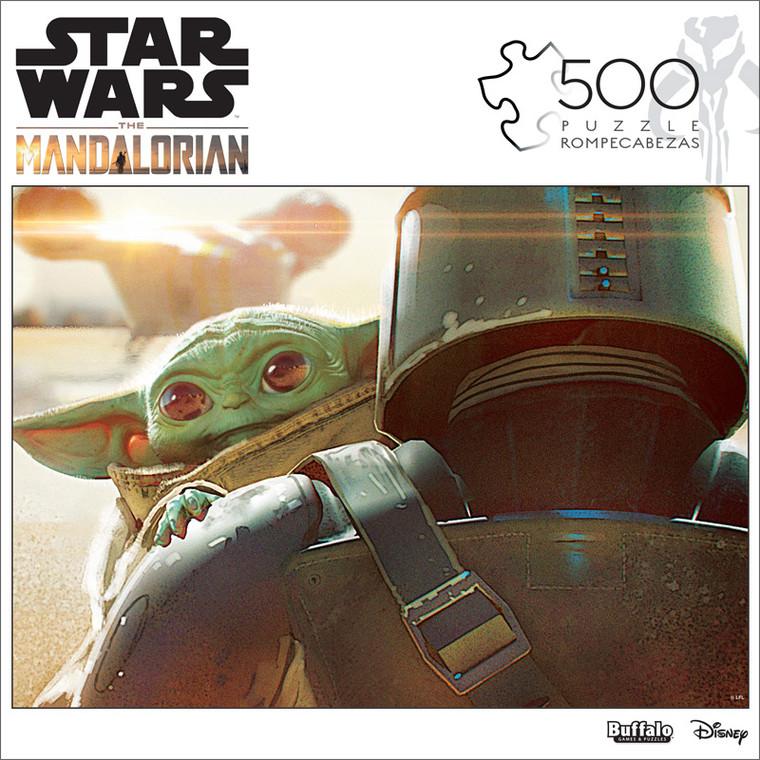 Star Wars™ The Mandalorian The Child 500 Piece Jigsaw Puzzle Box