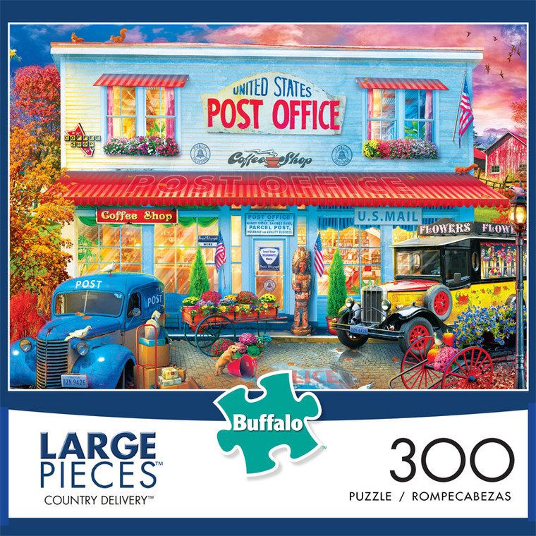 Country Delivery 300 Large Piece Jigsaw Puzzle Box