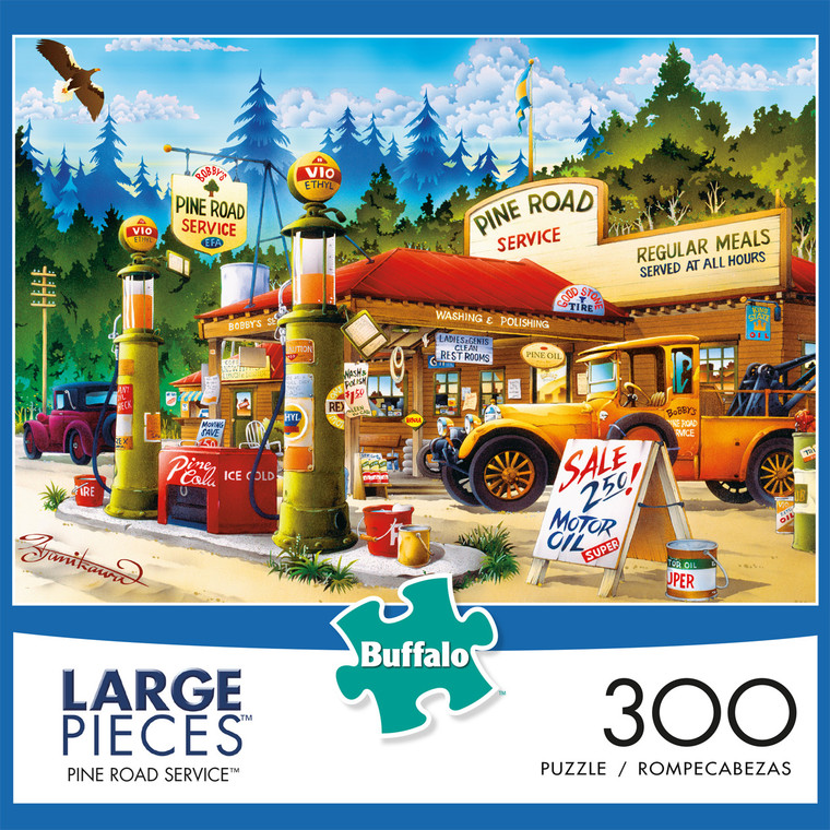 300 Piece Pine Road Service box