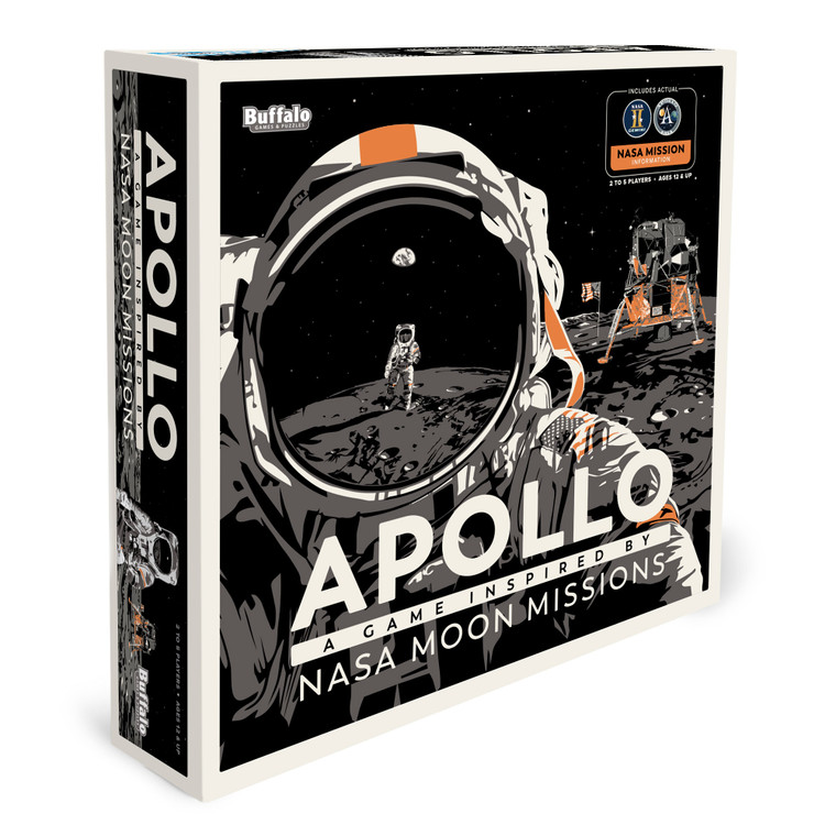 Apollo- A Game Inspired by the NASA Moon Missions Front 3D