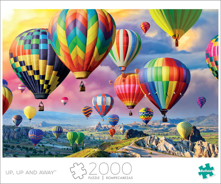 Art of Play Up, Up and Away 2000 Piece Jigsaw Puzzle Front