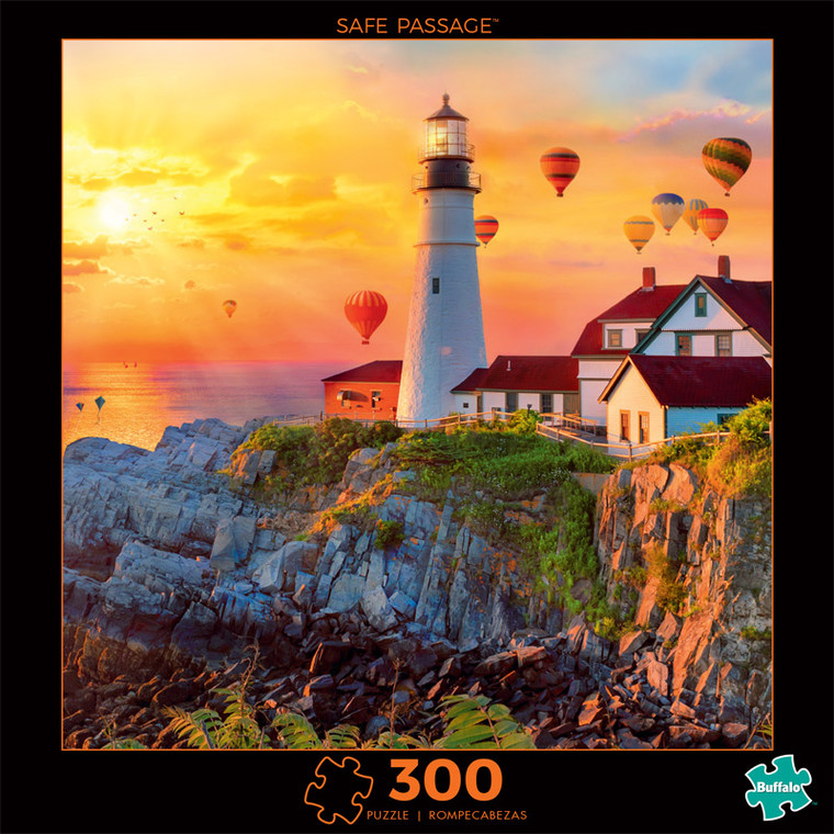 Photography Safe Passage 300 Piece Jigsaw Puzzle Front