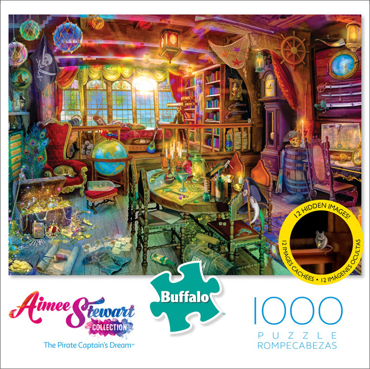 Aimee Stewart The Pirate Captain's Dream 1000 Piece Jigsaw Puzzle Front