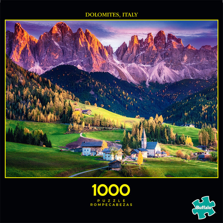 Photography Dream Village 1000 Piece Jigsaw Puzzle Front