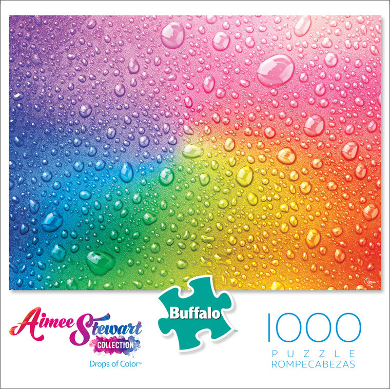 Aimee Stewart Drops of Color 1000 Piece Jigsaw Puzzle Front