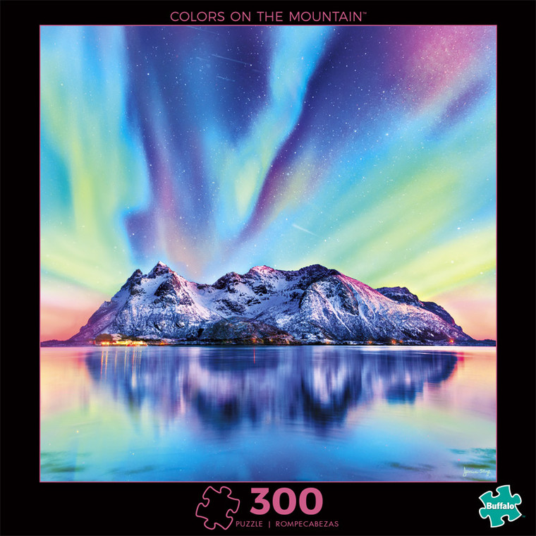 Photography Colors on the Mountain 300 Piece Jigsaw Puzzle Front