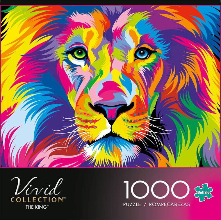 Vivid The King 1000 Piece Jigsaw Puzzle Front