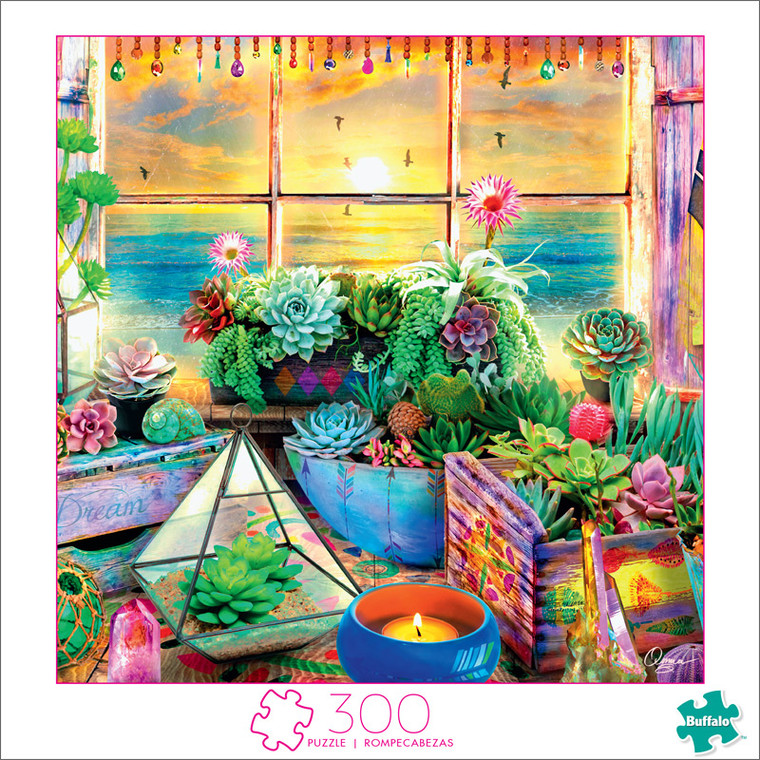 Art of Play Good Vibes 300 Large Piece Jigsaw Puzzle Front
