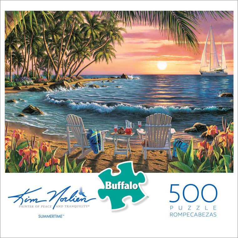 Kim Norlien Summertime 500 Piece Jigsaw Puzzle Front