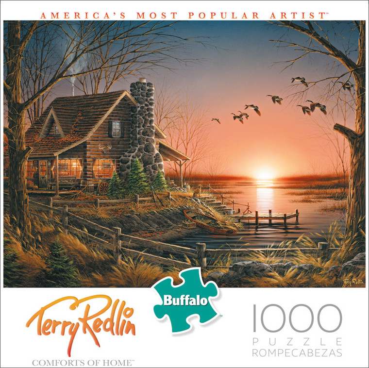 Terry Redlin Comforts of Home 1000 Piece Jigsaw Puzzle Front