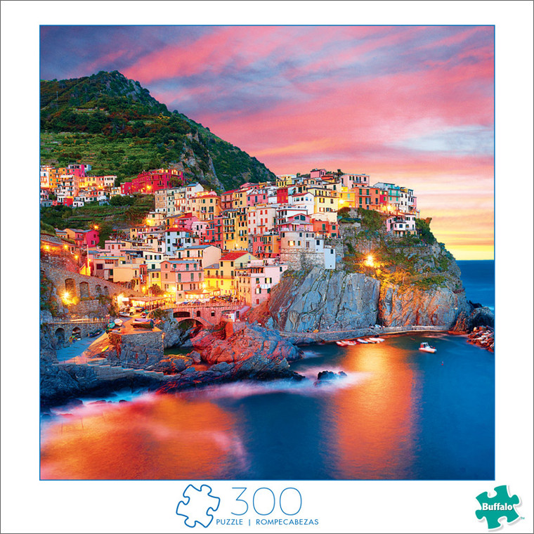 Art of Play Amalfi Coast Color 300 Large Piece Jigsaw Puzzle Front