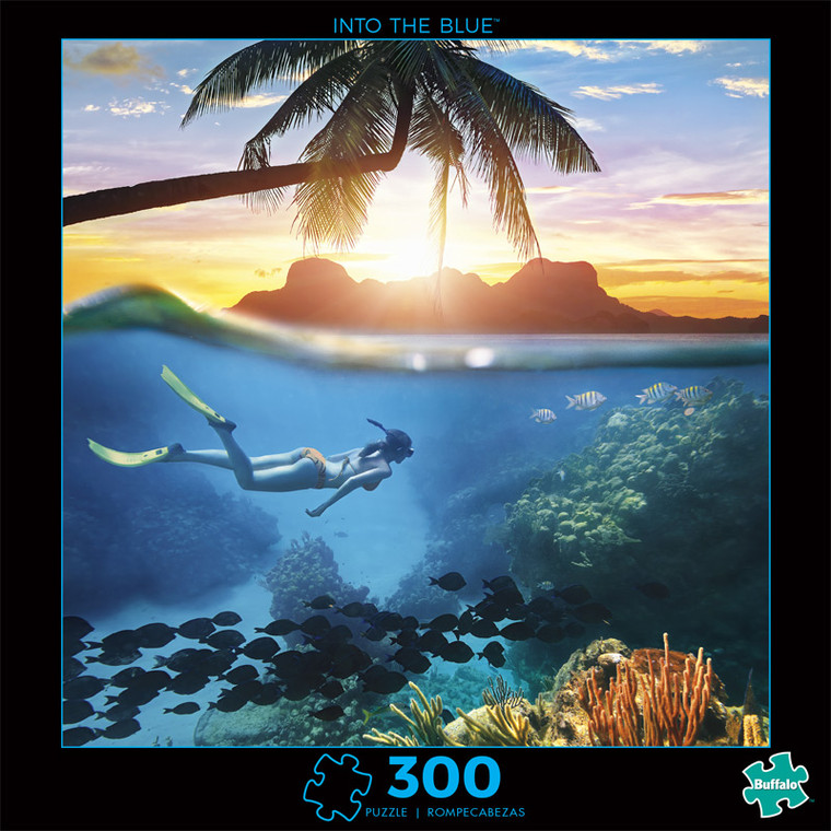 Photography Into the Blue 300 Piece Jigsaw Puzzle Front