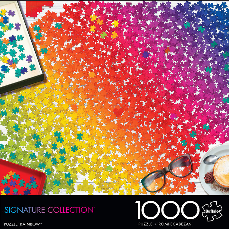 Signature Collection Puzzle Rainbow 1000 Piece Jigsaw Puzzle Front