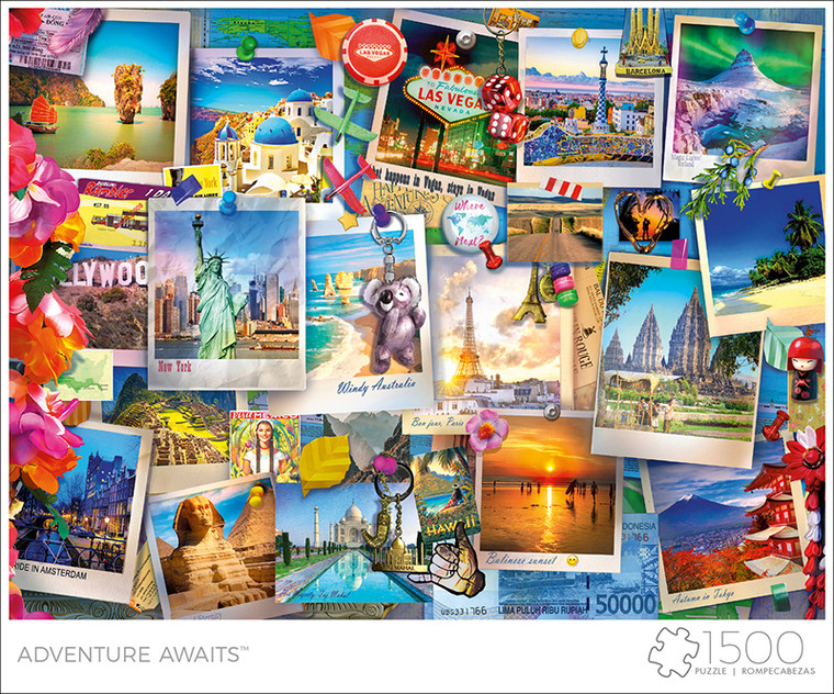 Art of Play Adventure Awaits 1500 Piece Jigsaw Puzzle Front