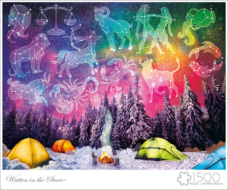 Art of Play Written In The Stars 1500 Piece Jigsaw Puzzle Front
