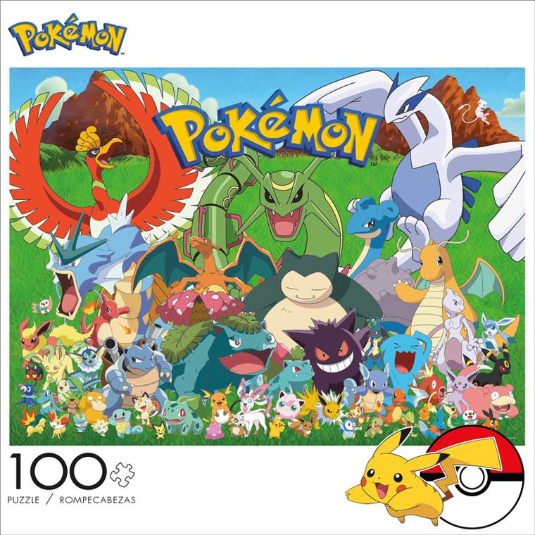 Pokémon Fan Favorites 100 Piece Jigsaw Puzzle Front