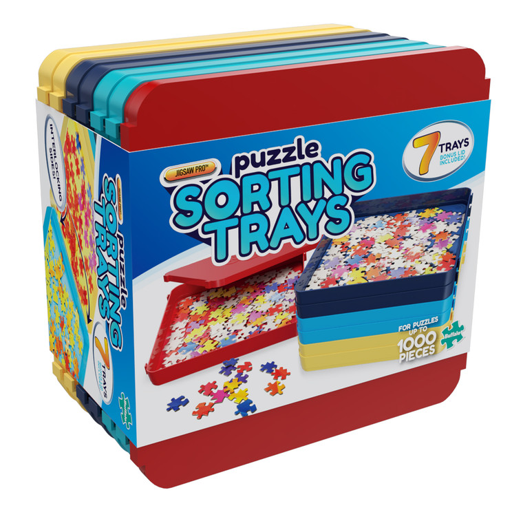 Jigsaw Pro Puzzle Sorting Trays