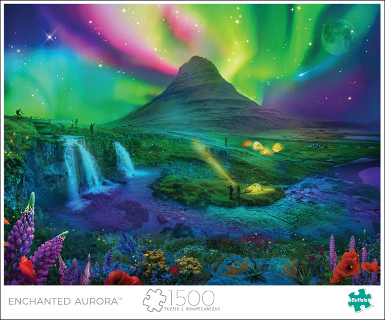 Art of Play Enchanted Aurora 1500 Piece Jigsaw Puzzle Front