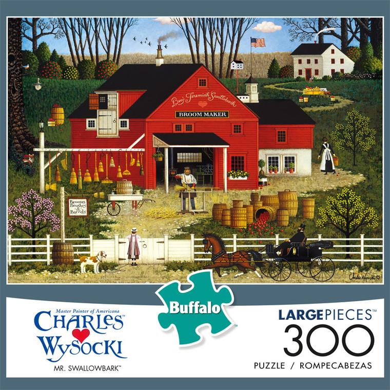 Charles Wysocki Mr. Swallowbark 300 Large Piece Jigsaw Puzzle Front