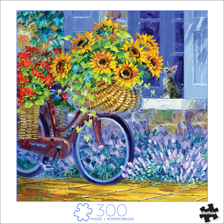 Art of Play Delivery of Sunshine 300 Large Piece Jigsaw Puzzle Front