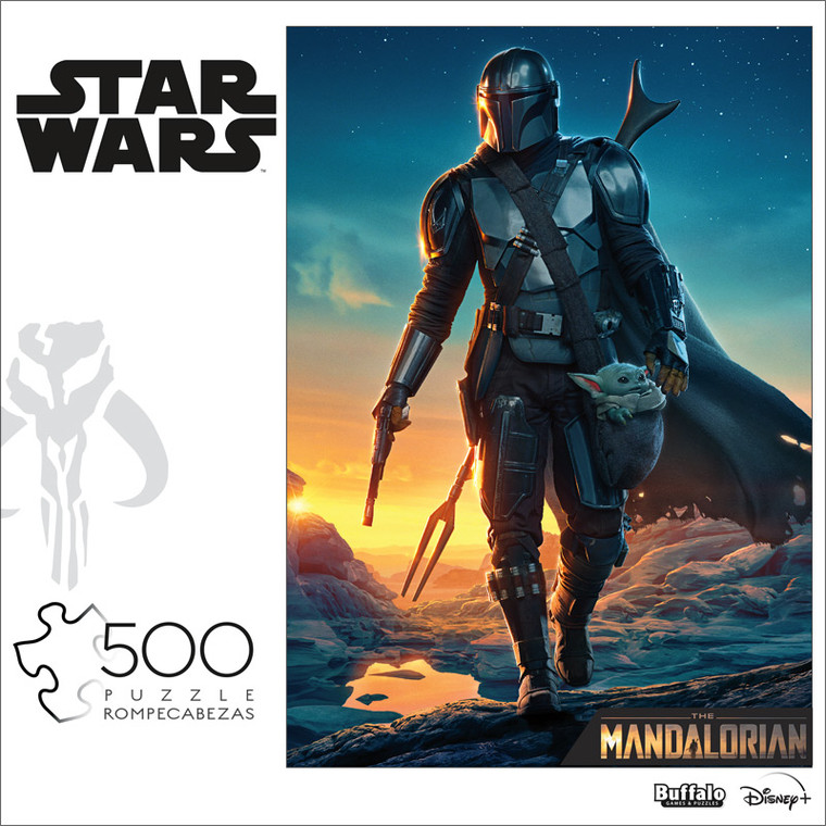 """Star Wars™ """"The Kid Comes With Me"""" 500 Piece Jigsaw Puzzle Front"""