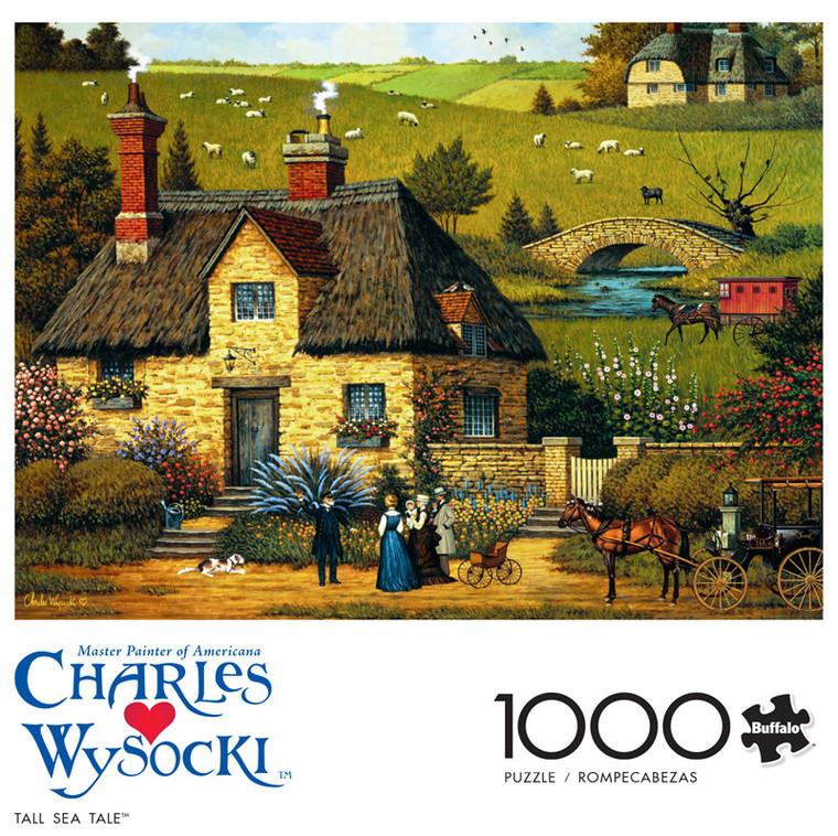 Charles Wysocki Tall Sea Tale 1000 Piece Jigsaw Puzzle Front