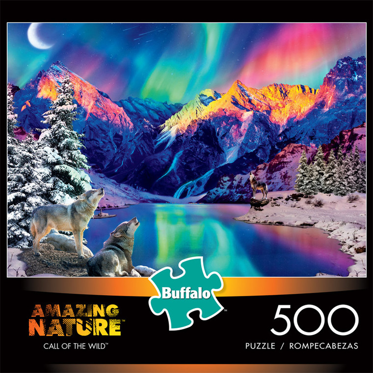 Amazing Nature Call Of the Wild 500 Piece Jigsaw Puzzle Front