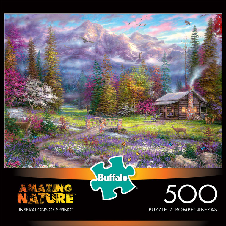 Chuck Pinson Amazing Nature Inspirations of Spring 500 Piece Jigsaw Puzzle Front