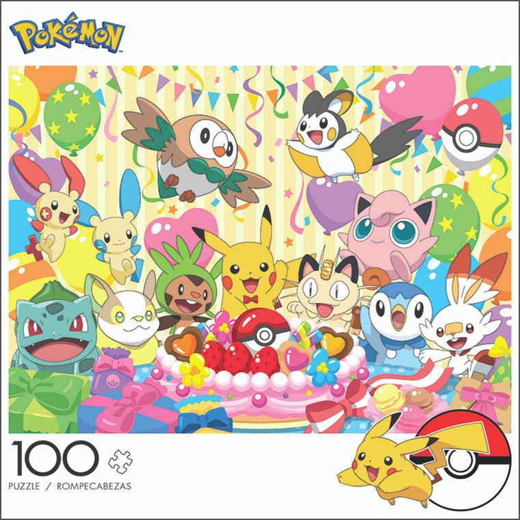 Pokémon Celebration 100 Piece Jigsaw Puzzle Front