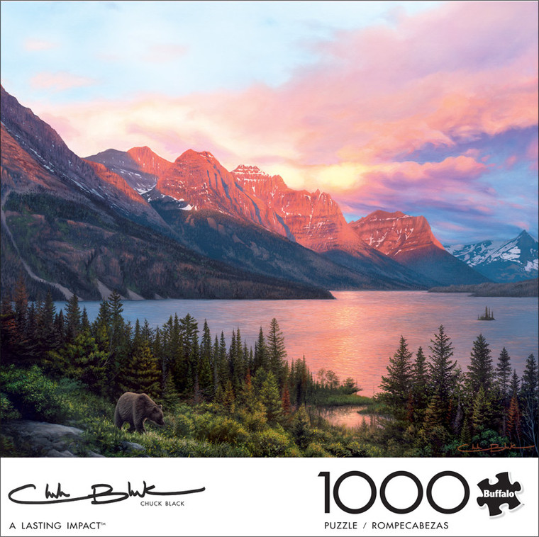 Chuck Black A Lasting Impact 1000 Piece Jigsaw Puzzle Front