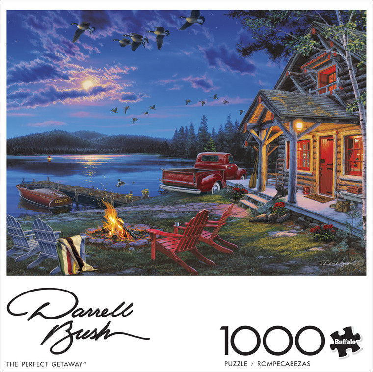 Darrell Bush The Perfect Getaway 1000 Piece Jigsaw Puzzle Front
