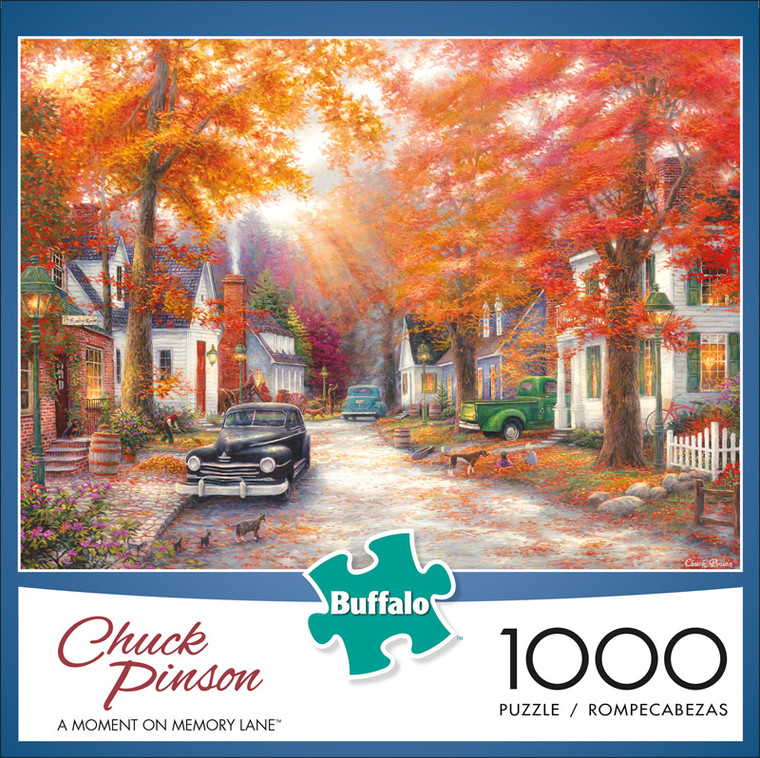 Chuck Pinson A Moment on Memory Lane 1000 Piece Jigsaw Puzzle Front