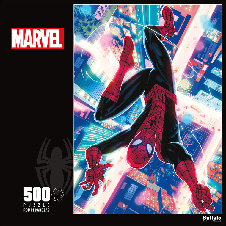 Marvel Comics The Spectacular Spider-Man 500 Piece Jigsaw Puzzle Front