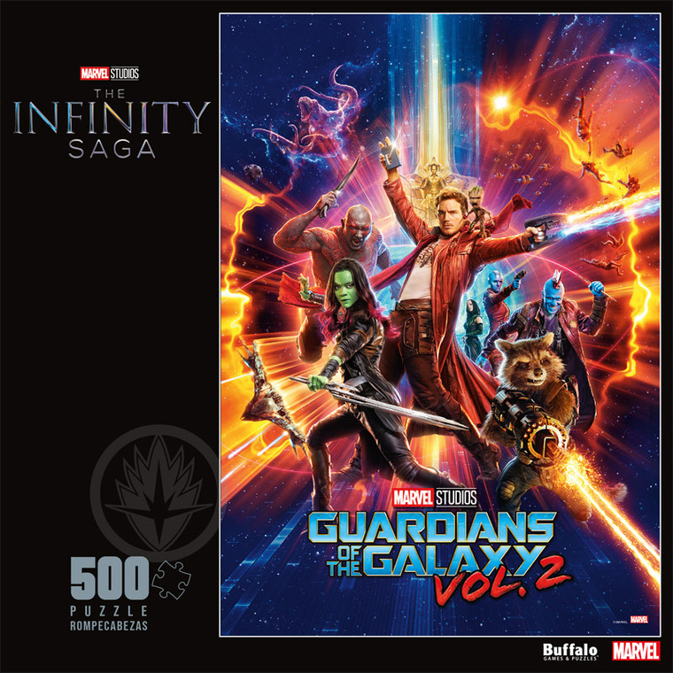 Marvel Studios' Guardians of the Galaxy Vol. 2 500 Piece Jigsaw Puzzle Front