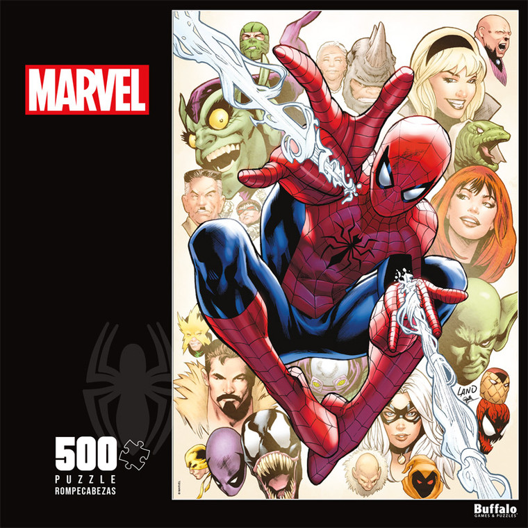 Marvel Comics The Amazing Spider-Man #800 500 Piece Jigsaw Puzzle Front