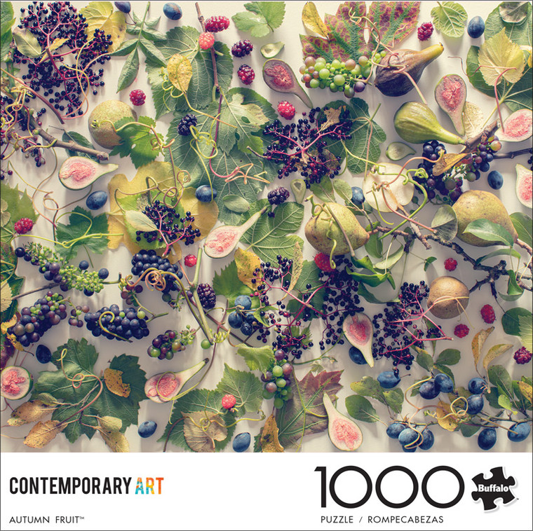 Contemporary Collection Autumn Fruit 1000 Piece Jigsaw Puzzle Front