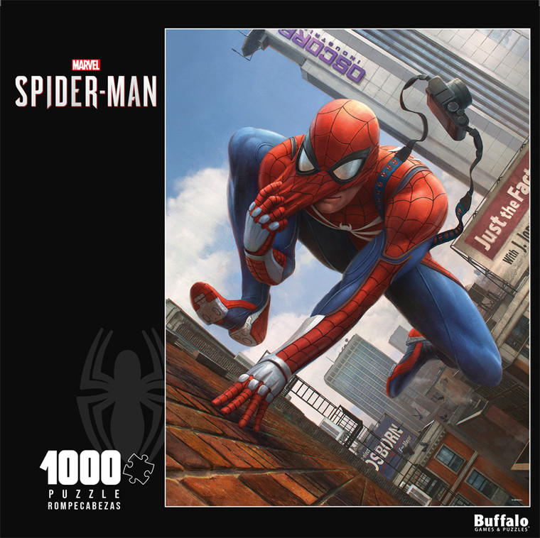 The Amazing Spider-Man Annual #1 Variant 1000 Piece Jigsaw Puzzle Front
